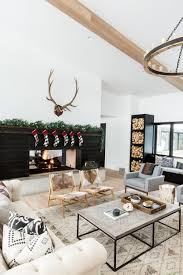 holiday home tour a modern mountain home interior design ideas home decor blog