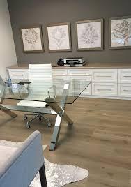 feminine office remodel glass top desk storage framed art herman miller high