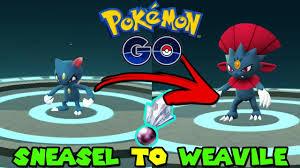 Sneasel Evolution Chart Evolve Sneasel Pokemon Go