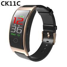 <b>Smart bracelet CK11C Fitness Bracelet</b> Color Screen Blood ...