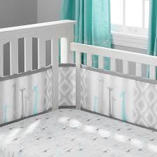 3pc ultra luxe reversible crib bedding set