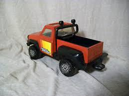 T3 VINTAGE 1979 Tonka Pickup Truck, Roll Bar, Baja Lights, Red and ...