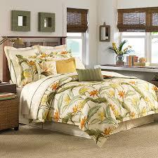 tommy bahama birds of paradise comforter duvet set from tommy bahama canvas stripe