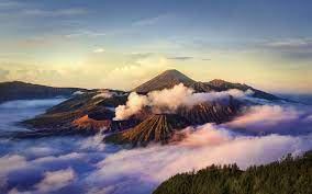 Volcano Java Indonesia Indonesia Cloud ...
