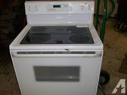 whirlpool glass top stove microwave for in byron michigan
