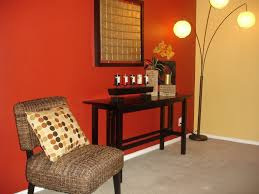 Two Color Living Room Interior Paint Color Ideas Two Color Wall Home Decor Interior