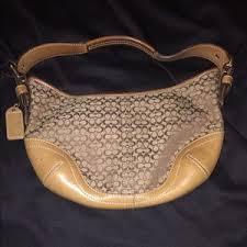 Authentic Coach mini hobo shoulder bag