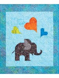 Animal Quilt Patterns Awesome Animal Quilt Patterns Oliver's Elephant Quilt Pattern