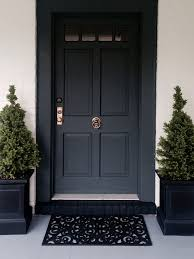 Pleasant Black Front Doors Or Other Door Interior Home Design Backyard