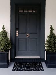 pleasant black front doors or other door interior home design backyard