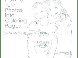 Turn Photo Into Coloring Page Free T4525 Free App To Turn Picture