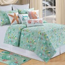 coastal beach and tropical bedding