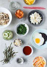 Green Kitchen Stories Book Green Kitchen Stories A Bibimbap With Tofu Pickled Vegetables