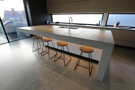 laying polished concrete floors on an