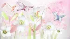Wallpaper Flowers Pastel - HD Wallpaper