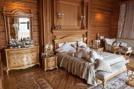 decorated bedrooms design. Richly Decorated Bedroom With Wood Accents Bedrooms Design