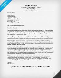 Brilliant Ideas Of Sample Cover Letter For Flight Attendant Job