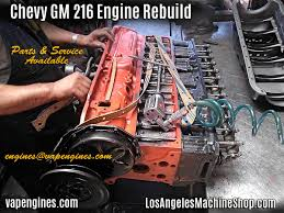 All Chevy chevy 216 engine : Chevy GM 216 Engine Rebuild - Los Angeles Machine Shop- Engine ...