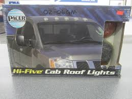 Pacer Led Cab Lights Pacer Cab Roof Lights 02 06 Chevy Gmc Style 3 Light Kit Amber Led 20 253