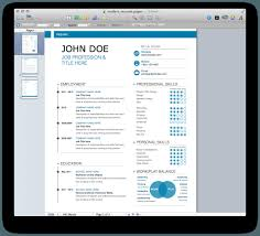 Mac Pages Resume Templates Free Resume Example And Writing Download