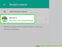 3 Ways to Unblock Contacts on WhatsApp wikiHow