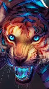 Get Plus 25 3D Tiger Wallpaper For ...