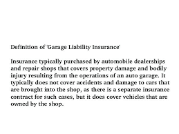awesome garage liability insurance for auto dealer florida