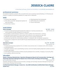Business Development Manager Resume Resumes Objective Pdf Summary