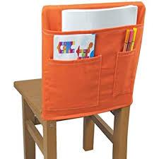 Chair Storage Pocket Chart Plafueto Canvas Chairback Buddy Pockets Chart Classroom Seat Storage Organizer Kids School Supplies Chair Pockets For Classroom Daycare Homeschool