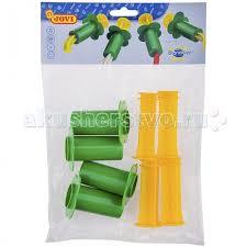 <b>Jovi Набор для лепки</b> 4 пластиковых шприца для моделирования ...