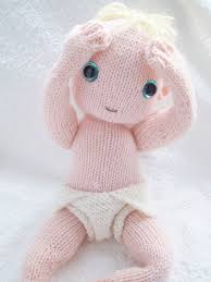 Doll Patterns Beauteous Ravelry Knitted Baby Doll And Nappy Pattern By Claire Garland