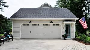 delights lighting. Plain Lighting Over Garage Door Lighting Stylish Third Time S A Charm Before After Dixie  Delights Intended For 4