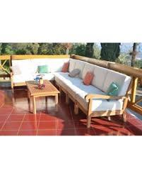 corner piece of furniture. WholesaleTeak Outdoor Patio Grade-A Teak Wood Napa 8 Piece Sectional Sofa Set - Corner Of Furniture