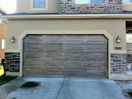 interesting doors this picture is a closeup of the finished woodgrained metal door in metal garage doors