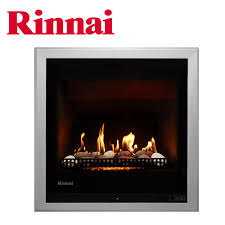 rinnai 650 log fire stones