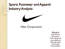 industry analysis template nike industry analysis presentation