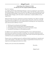 Leading Professional Product Marketer Cover Letter Examples