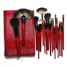 6 pcs professional makeup brushes set