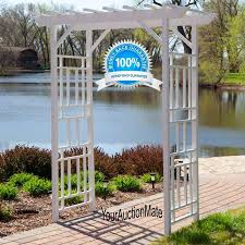 Small Picture Backyard Arbors Ideas Design And Pics With Charming Garden Arbor