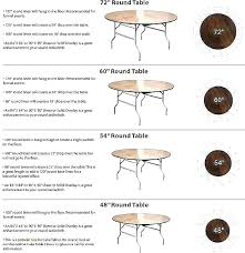 what size tablecloth for 60 inch round table round table inch tents and events tablecloth x