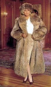 alluring fur coat with fur hat 10