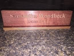 wooden desk name plates philippines ayresmarcus