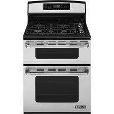 JennAir30u0026quot Freestanding Gas Double Oven Range With Convection JGR8890ADP
