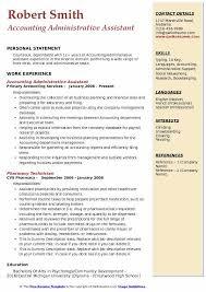 Key Skills Resume Administrative Assistant Accounting Administrative Assistant Resume Samples Qwikresume