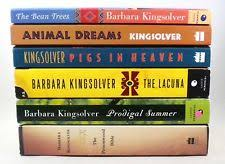 barbara kingsolver literature modern paperback books  lot of 6 barbara kingsolver paperback books lacuna prodigal summer poisonwood