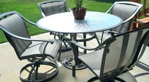 edington patio furniture cast back pair of patio dining chairs with cushions
