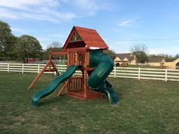 swingset 2 with two slides