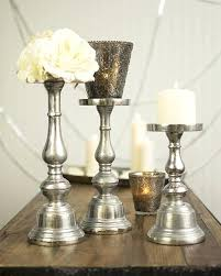 tall silver candle holders varying heights of candle holders candles as well as mercury glass votive tall silver candle holders