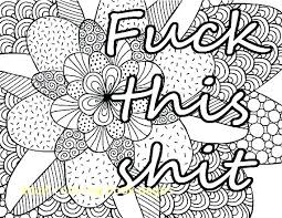 Cuss Word Coloring Pages Coloring Book Sheets Cuss Word Coloring