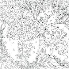 Enchanted Forest Coloring Pages Pdf Book Plus Page Best For Kid Dpalaw